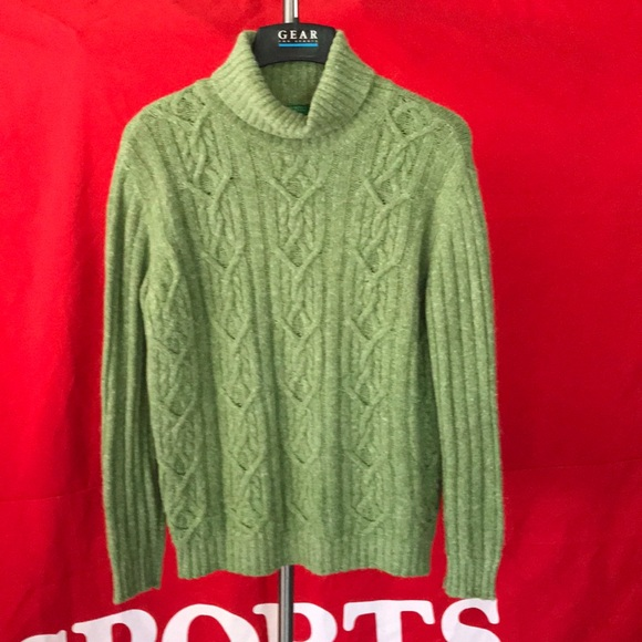 Made in Italy of Benetton cable knit sweater szM-L